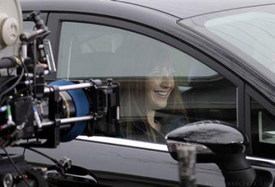 Anna Torv on the Set