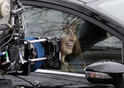Anna Torv on the Set