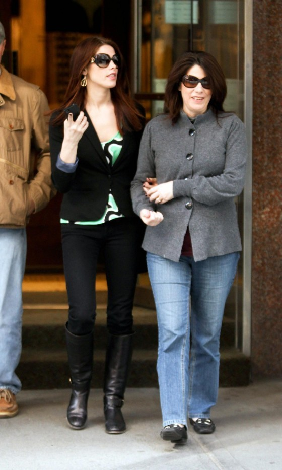 Ashley Greene Out & About With Her Parents In NYC!