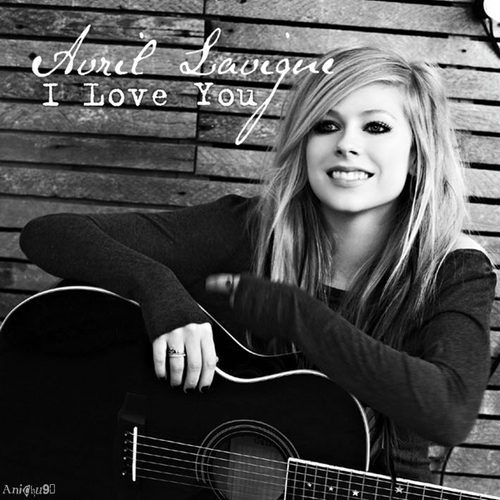 Avril Lavigne - I l'amour toi [My FanMade Single Cover]