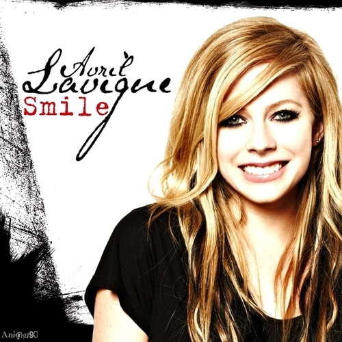 Avril Lavigne - Smile [My FanMade Single Cover]