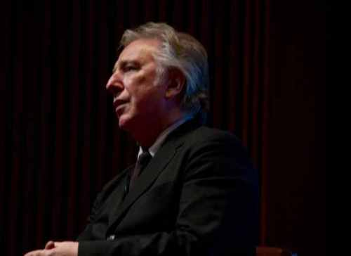 BAFTA evening with Alan (Feb. 2011)