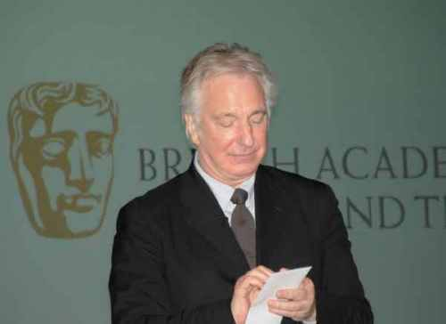 BAFTA evening with Alan (Feb. 2011)