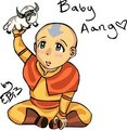 Baby Aang - avatar-the-last-airbender photo