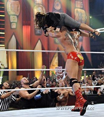 Batista throws a women