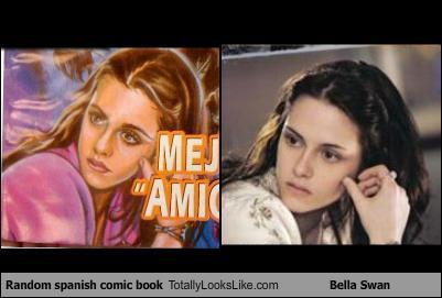Bella totally looks like.......