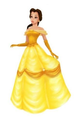 Belle in Kingdom Hearts