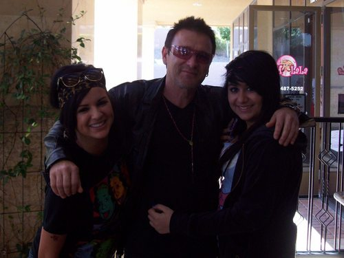 Bono at Paymon's Cafe in Las Vegas