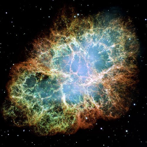 The Hubble Telescope Wallpaper Possibly Containing A Sand Dollar Called CRAB NEBULA