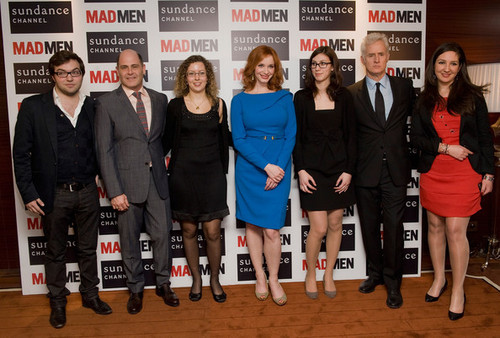 Christina Hendricks - Mad Men Gala Event At Hotel Royal Monceau - Inside Photocall