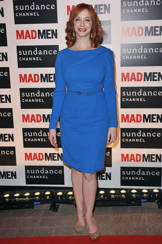 Christina Hendricks - Mad Men Gala Event At Hotel Royal Monceau - Red Carpet Photocall