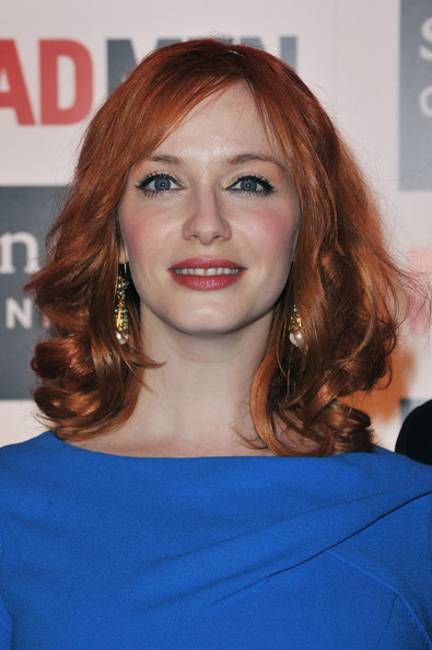 christina hendricks mad men. Christina Hendricks - Mad Men Gala Event At Hotel Royal Monceau - Red Carpet Photocall