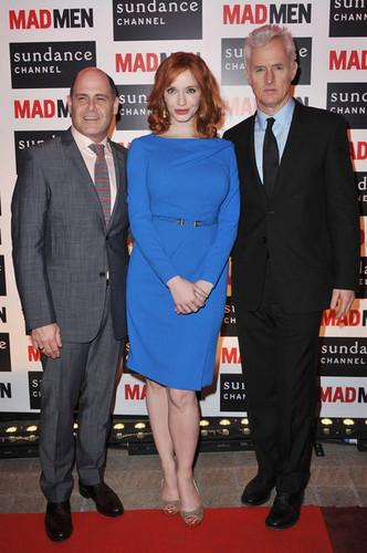 Christina Hendricks - Mad Men Gala Event At Hotel Royal Monceau - Red Carpet Photocall