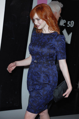 Christina Hendricks - 'Mad Men' Photocall And Masterclass At मंच Des तस्वीरें