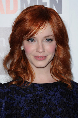 Christina Hendricks - 'Mad Men' Photocall And Masterclass At forum Des gambar