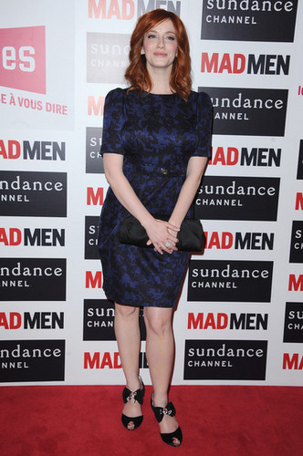 Christina Hendricks - 'Mad Men' Photocall And Masterclass At foros Des imágenes
