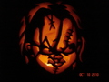 Chucky Pumpkin - horror-movie-killers wallpaper