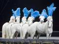 Circus Horses - circus-and-carnivals wallpaper