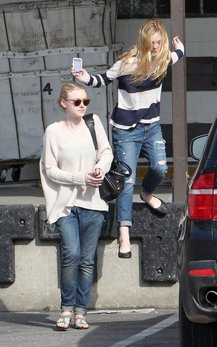 Dakota Fanning Out and About Recently!
