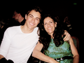 Dave Franco and his mum