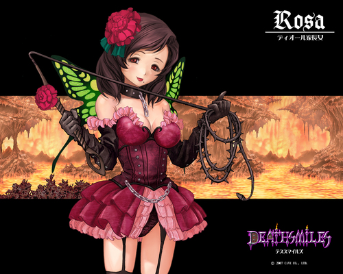 funkyrach01 wallpaper probably with a kirtle entitled Deathsmiles