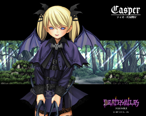 funkyrach01 wallpaper with a hip boot and a surcoat called Deathsmiles