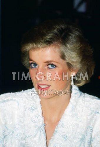 Diana In France