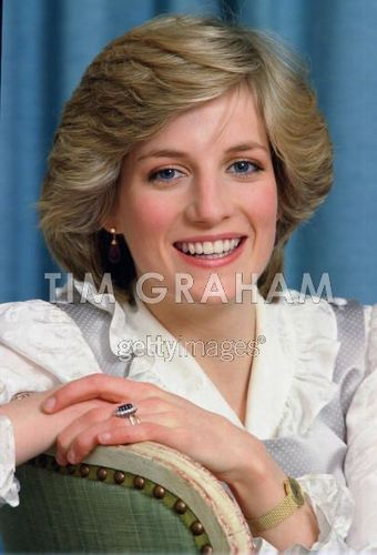 Diana William At accueil Kensington Palace