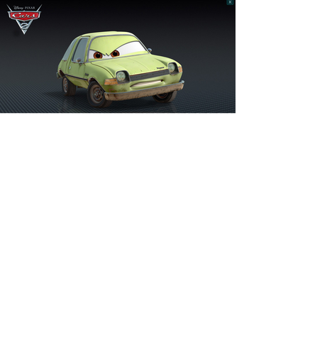 Disney Pixar Cars Acer