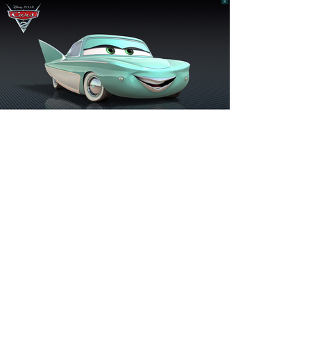 disney pixar Cars Flo