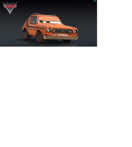 Дисней Pixar Cars Grem