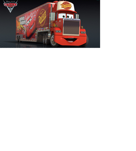 Disney Pixar Cars 2 Wallpaper Titled Mack