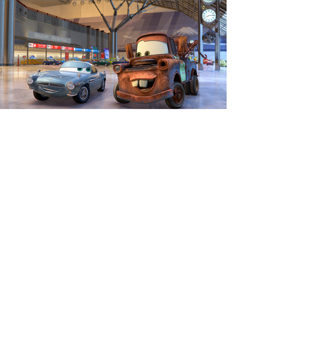 Disney Pixar Cars Mater and Fin Mcmissile