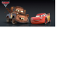 Disney Pixar Cars Mater and Lightning Mcqueen