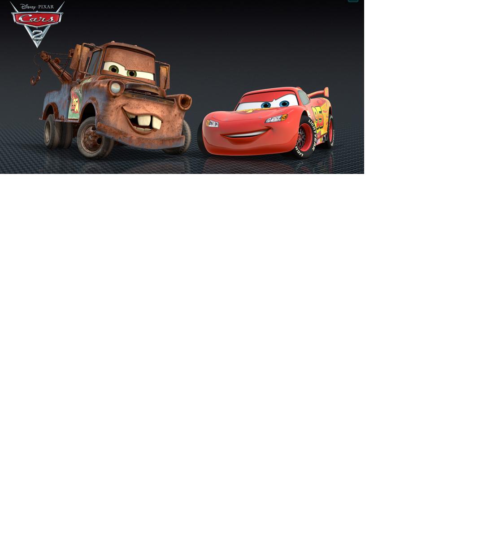 Disney Pixar Cars Mater and Lightning Mcqueen