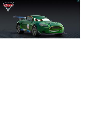 Disney Pixar Cars Nigel Gearsly