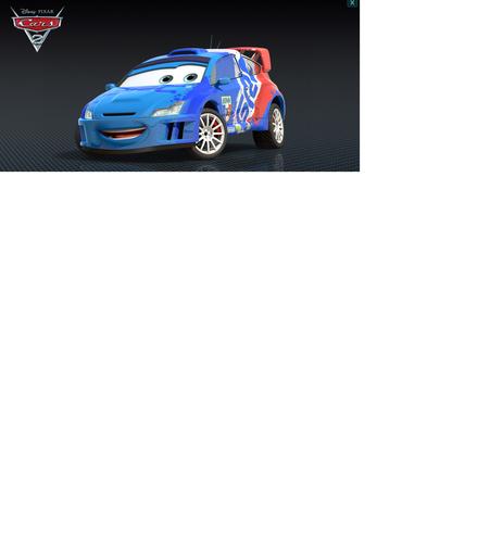 Disney Pixar Cars Raoul Caroule