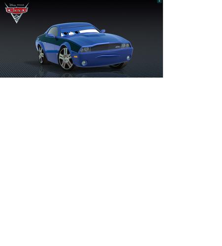 Disney Pixar Cars Rod ,Torque, Redline