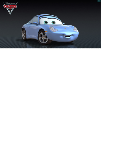 Disney Pixar Cars Sally