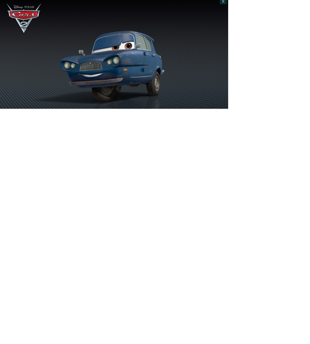 Disney Pixar Cars Tomber