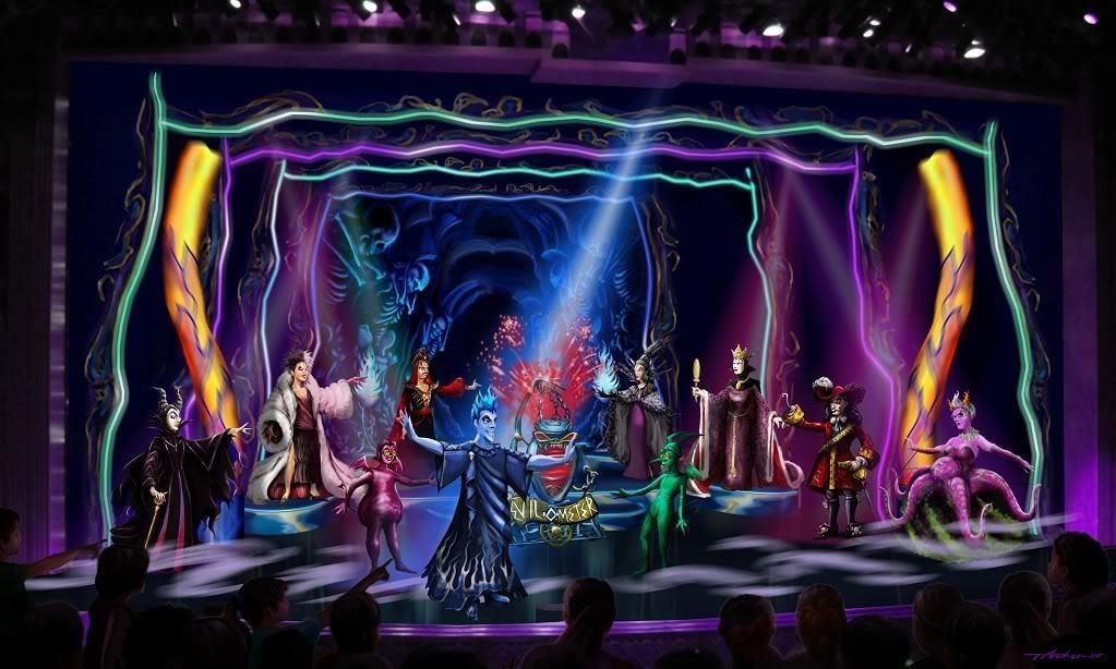 Disney Villains on Stage
