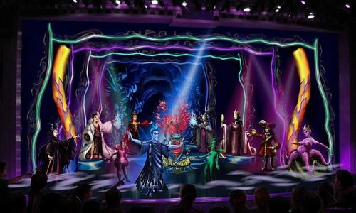 Disney Villains on Stage