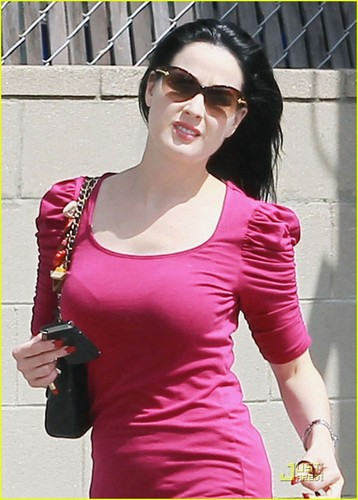 Dita Von Teese: Friday Fitness at Pilates