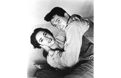 Elizabeth and Rock Hudson