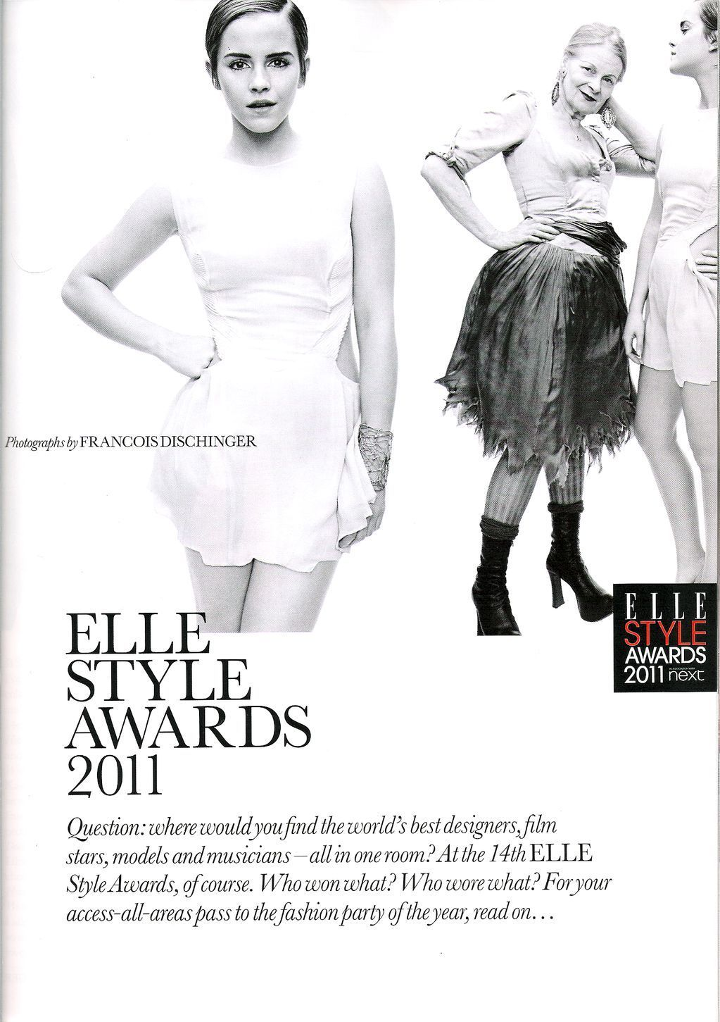 Elle UK - April 2011
