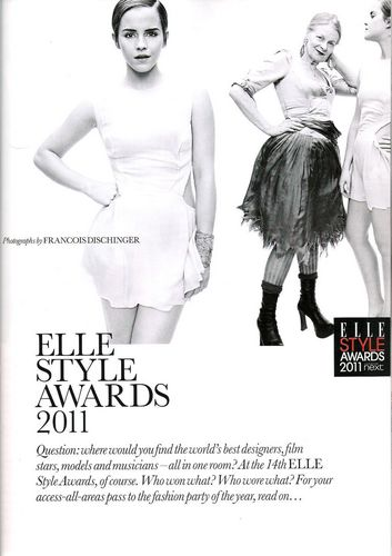Elle UK - April 2011  - harry-potter Photo