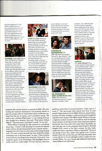 Entertainment Weekly: Scan