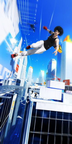 Mirror's Edge wallpaper entitled Escaping the Blues