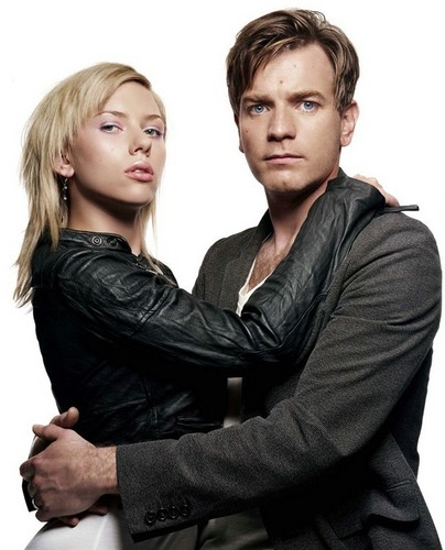 Ewan McGregor fondo de pantalla with a well dressed person and a portrait entitled Ewan McGregor & Scarlett Johansson