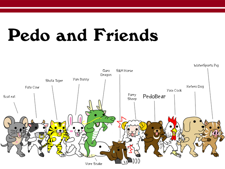 Pedo...and friends
